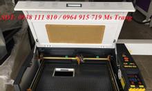 Máy laser 6040 cắt khắc mica, da, gỗ