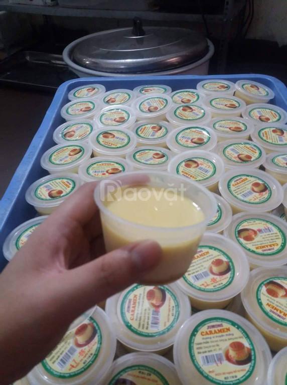 Cách làm caramen, nếp cẩm, làm caramen, cách làm sữa chua mít