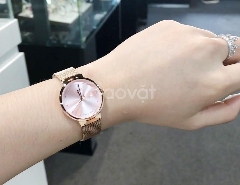 Đồng hồ nữ Julius Hàn Quốc chính hãng JA-426L dây thép