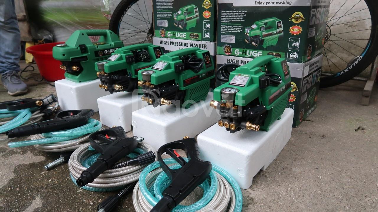 Máy rửa xe gia đình 100% mô tơ dây đồng, cảm ứng từ, hàng công ty