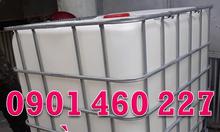 Bán bồn nhựa 1000 lít, thùng nhựa ibc 1000 lít, tank nhựa ibc 1000 lít