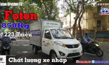 Xe tải máy xăng 500kg, 800kg, 900kg giá rẻ.