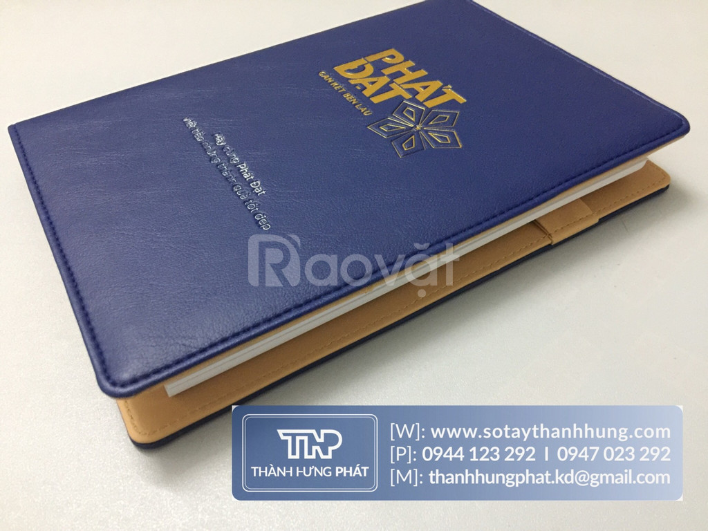 Sản xuất sổ da tại TP HCM - Xưởng sổ tay bìa da Thành Hưng Phát