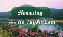 """Ghé thăm 5 homestay có view Hồ Tuyền Lâm """"đẹp chất ngất"""""""
