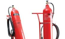 Bình chữa cháy xe đẩy CO2 MT24 Dragon