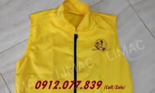 Áo khoác gile đồng phục giao hàng giá rẻ tại Bình Tân