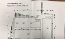 Cho thuê xưởng ngay An Điền-Bến Cát, diện tích 4.5ha