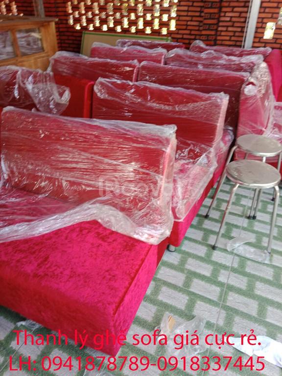 Thanh lý 50 ghế sofa cafe phòng lạnh giá rẻ.