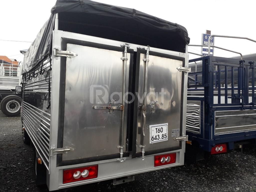Xe tải Jac 990kg thùng bạt đời 2019 máy isuzu