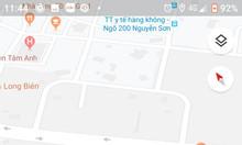 Bán đất vị trí đẹp tại Lâm Du, phường Bồ Đề, quận Long Biên, tp Hà Nội