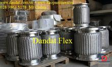 Khớp nối mềm 2 lớp lưới 4, khớp chống rung inox - ống nối mềm inox 34