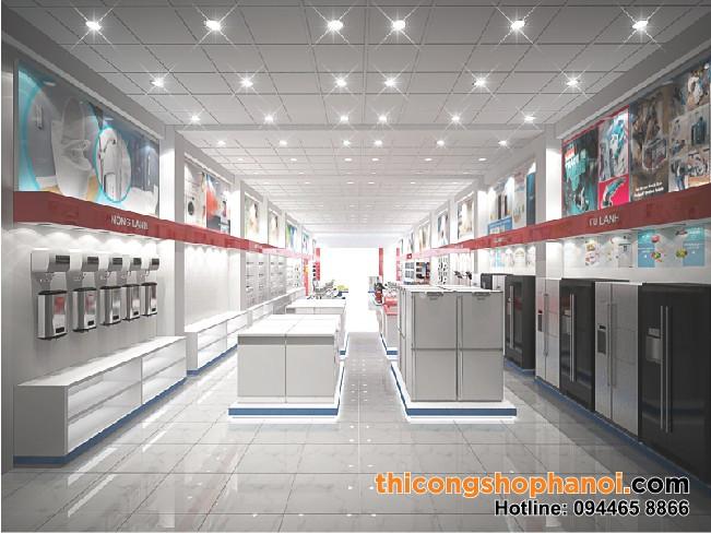 Thiết kế  không gian siêu thị điện máy (ảnh 6)