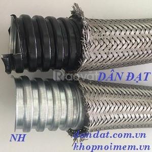 Ống ruột gà và lưới bện inox, ống luồn dây điện, ống ruột gà phi 60