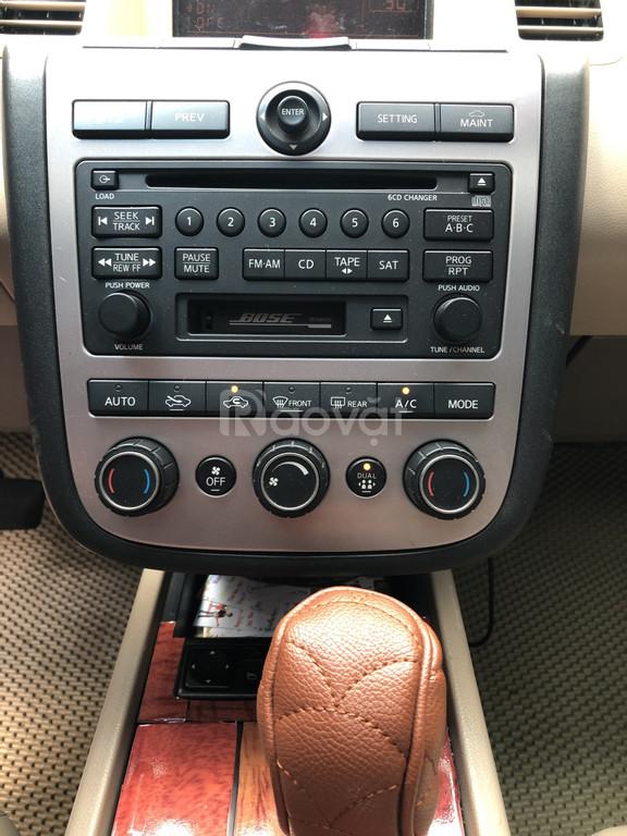 Nissan Murano 4x4 AT, màu đen, nhập Mỹ model 2007