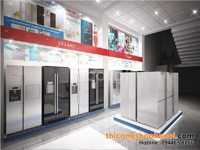 Thiết kế  không gian siêu thị điện máy (ảnh 8)