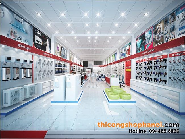Thiết kế  không gian siêu thị điện máy (ảnh 5)