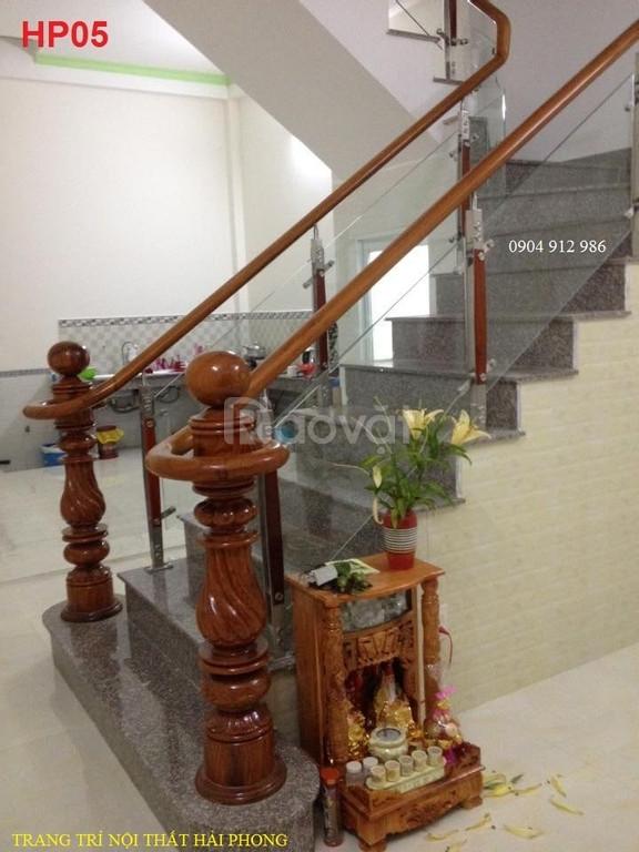 Kính cường lực: cầu thang, lan can, phòng tắm giá rẻ tại TP HCM