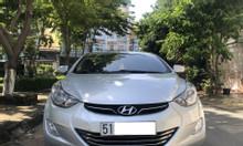 Hyundai Elantra tự động mode 2014, màu bạc nhập khẩu nguyên chiếc full