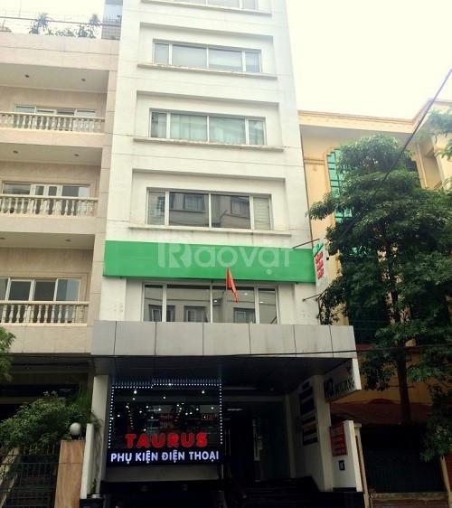 Cho thuê nhà mặt phố 125 Trần Quang Diệu 7 tầng, mt 5m, 90 triệu