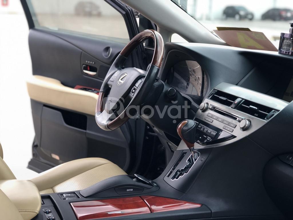RX350 tự động, máy xăng, model 2010 màu đen bản Full 3.5
