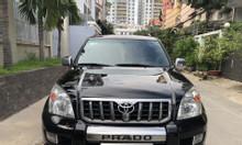 Cần bán xe Toyota Land Cruiser Prado GX 4x4 AT, Model 2008, màu đen