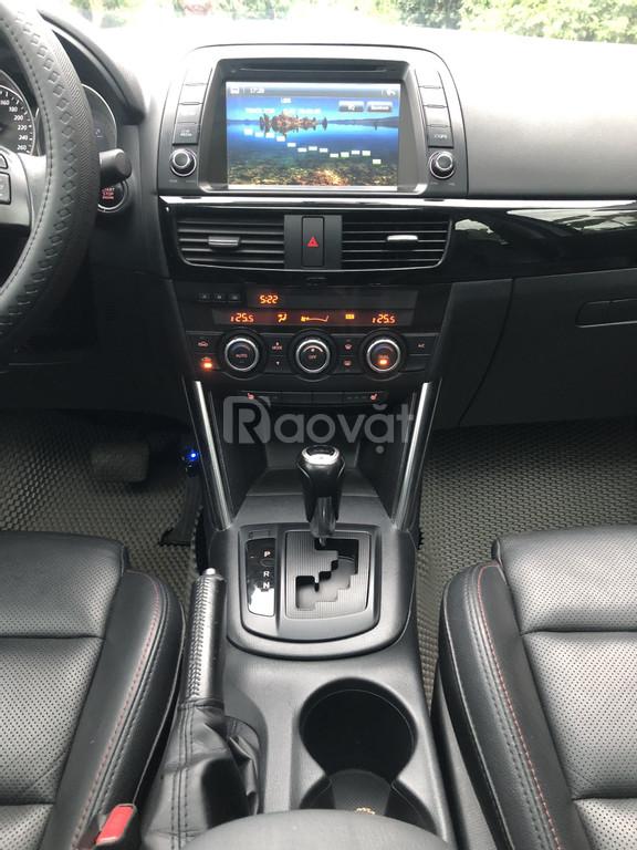 Xe Mazda CX5 AT model 2016, màu bạc, đẹp như xe mua mới