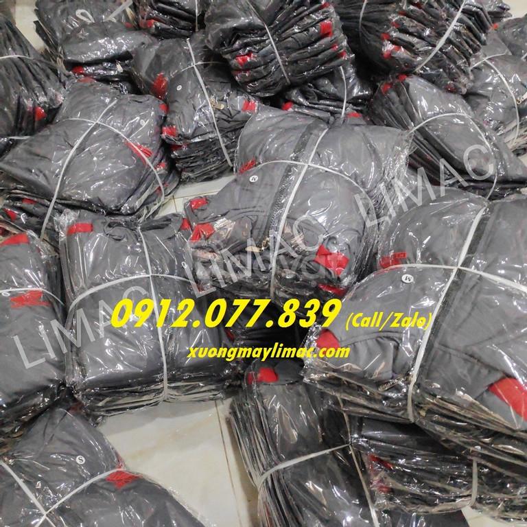 Áo khoác thêu logo honda màu xám giá rẻ