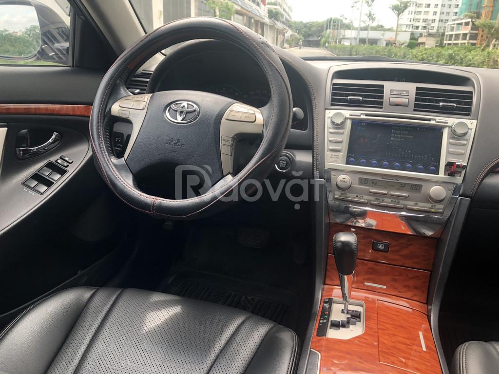 Toyota Camry 3.5Q model 2009 màu đen nội thất màu đen rất đẹp