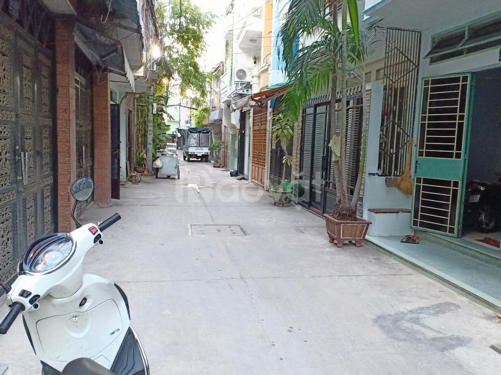 Nhà bán 3Lầu Cách Mạng Tháng 8 P5 Tân Bình 4x14m 9.8ty