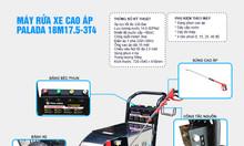 Máy rửa xe tải Palada 18M17.5-3T4