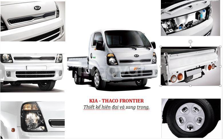 Thaco Kia k200 tại Hà Nam