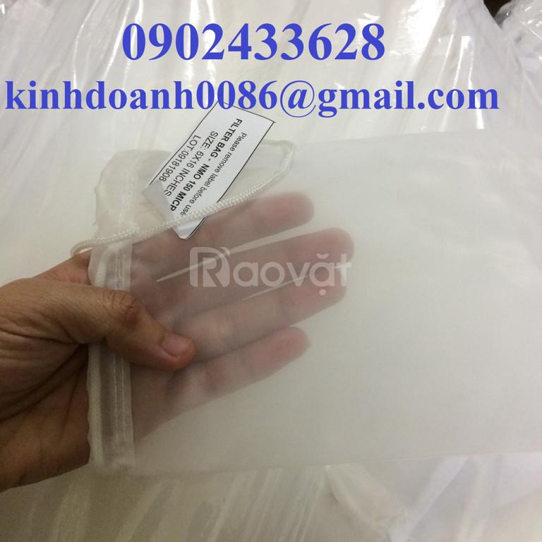 Túi lọc nước ép trái cây bằng vải nmo 50micron size 1