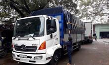Giá xe tải hino 6.5 tấn thùng 6.7 mét