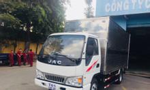 Xe tải Jac 2t4, Jac 2 tấn 4 vào thành phố jac máy isuzu