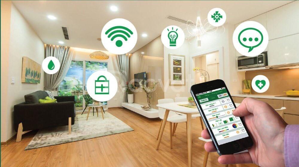 Sở hữu căn hộ thông minh- smart home đầu tiên tại Long Biên