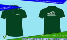 Đặt may áo thun đồng phục màu xanh rêu