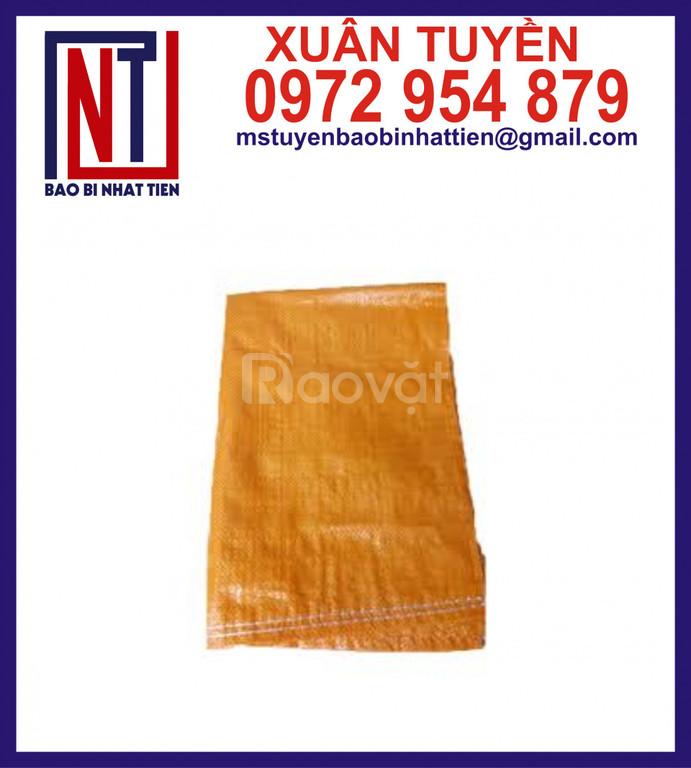 Bao PP dệt màu cam đựng 25kg, 50kg (ảnh 6)
