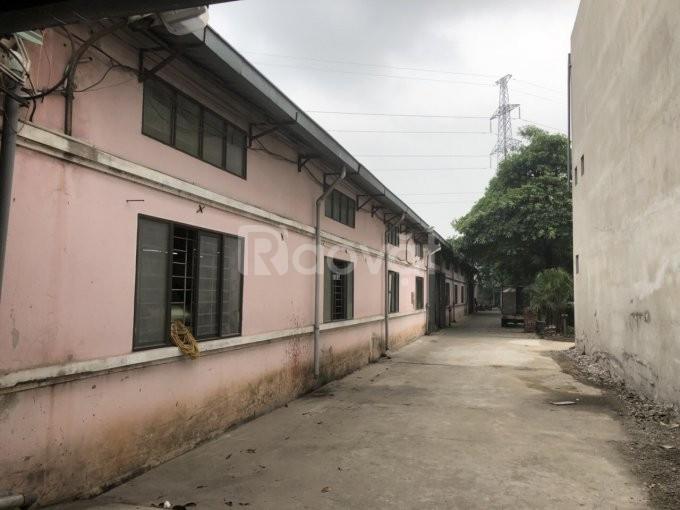 Bán kho xưởng DT 5700m2 Cụm CN Ngọc Sơn, Chương Mỹ, Hà Nội.