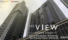 Bán căn hộ The View q7: loại 2-3PN, view sông Sài Gòn, sắp giao nhà