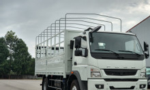 Xe tải Mitsubishi 5.7 tấn Fuso Canter10.4 thùng bạt - trả góp