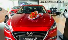 Mazda 3-Hỗ trợ tối đa 70 triệu - trả trước 180 triệu- liên hệ ngay.