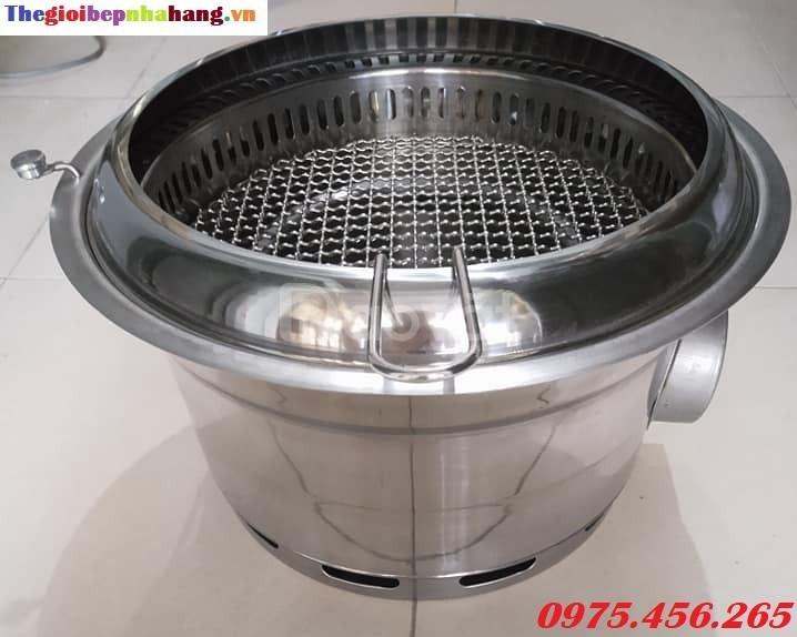 Bếp nướng than hoa không khói hút âm