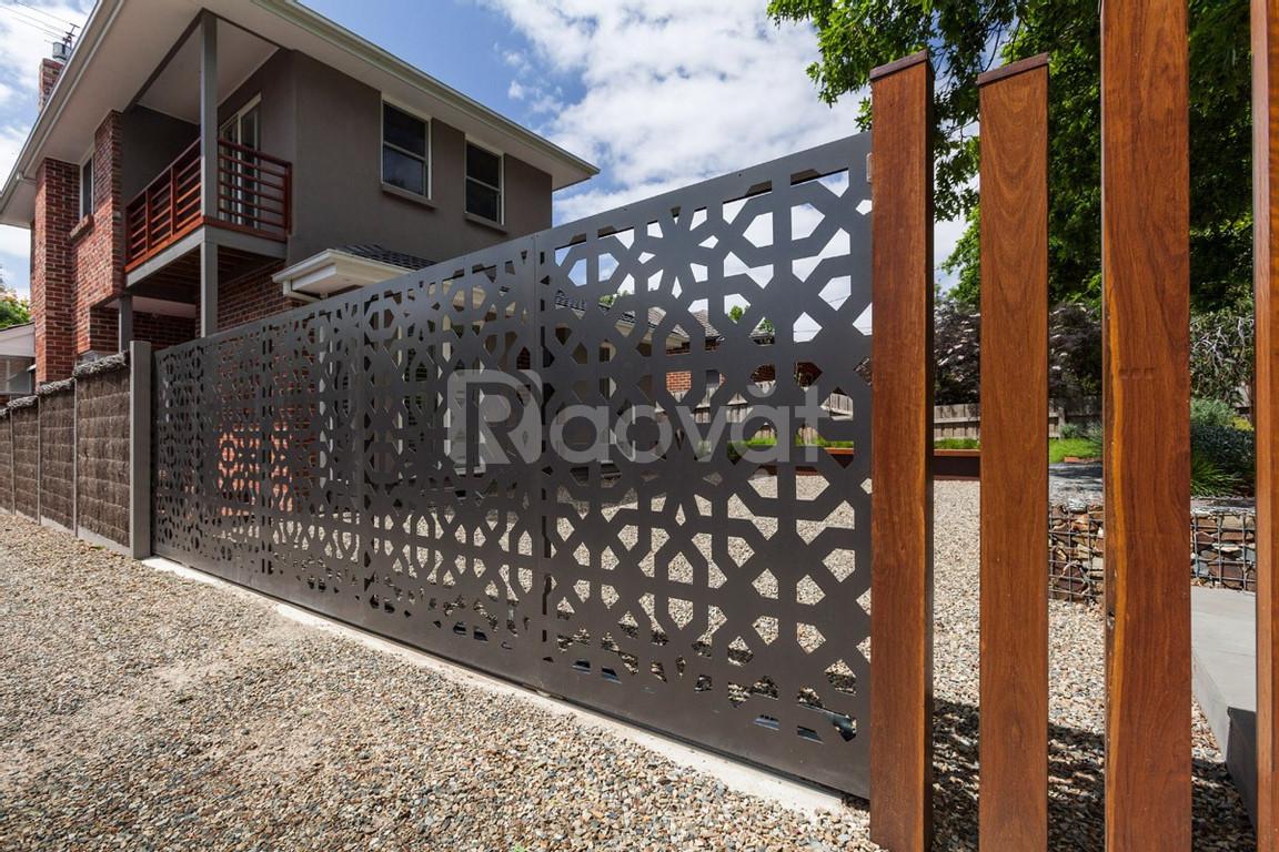 Hàng rào sắt Epoxy bảo vệ chắc chắn các công trình kiến trúc