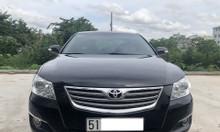 Gia đình bán Toyota Camry 3.5Q model 2009 màu đen nội thất màu đen
