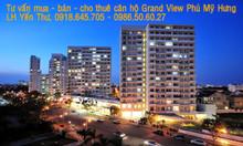 Căn hộ Grand View 118m2 lầu 12 giá 4.5 tỷ Phú Mỹ Hưng quận 7