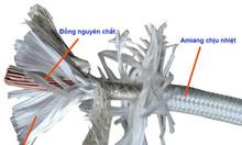 Dây điện chịu nhiệt Amiang nhiệt 500 độ