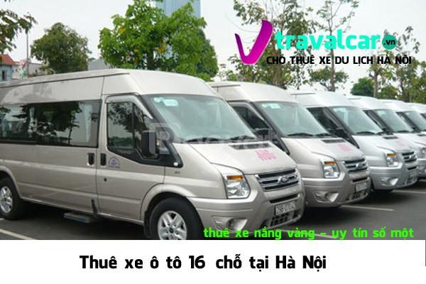 Cho thuê xe 16 chỗ có người lái tại Hà Nội