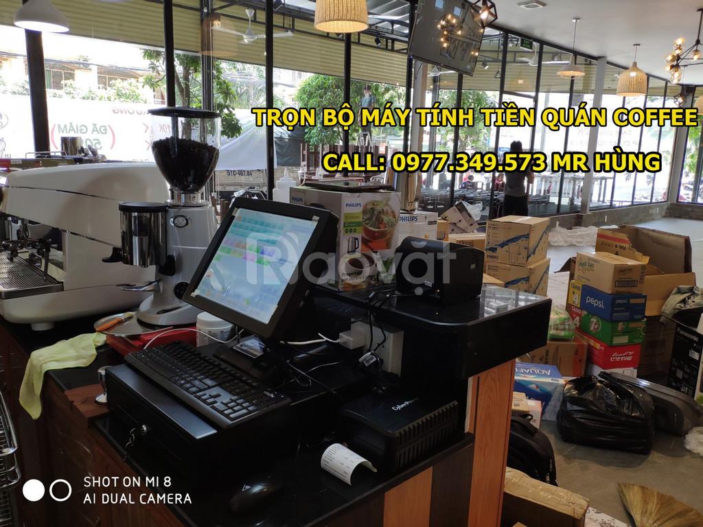 Nhận lắp đặt máy tính tiền quán cafe, trà chanh tại Bình Tân