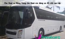 Công ty cho thuê xe 45 chỗ giá rẻ tại Hà Nội