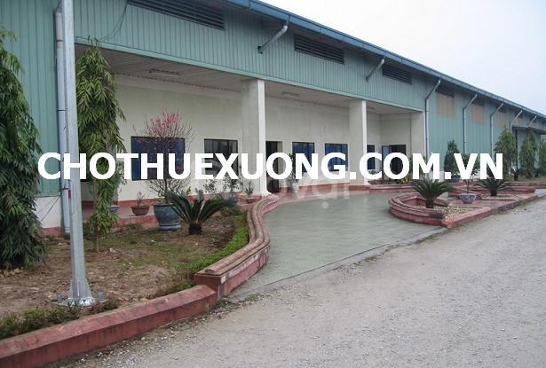 Cho thuê kho xưởng mới đẹp gần Khu công nghiệp Quế Võ 2 Bắc Ninh